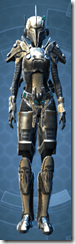Mandalorian Clansman - Female Front