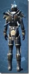 Mandalorian Clansman - Male Back