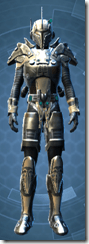 Mandalorian Clansman - Male Front
