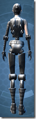 Series 614 Cybernetic - Female Back
