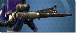Antique Socorro Sniper Rifle Besh Front