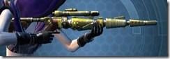 Antique Socorro Sniper Rifle Cresh
