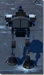 GZ-4 Command Walker - Back