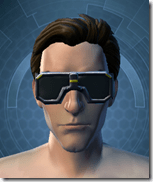 Stylish Defender's Goggles - Male Front