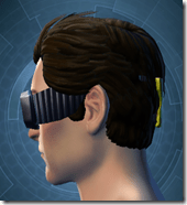 Stylish Defender's Goggles - Male Left