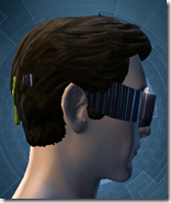 Stylish Defender's Goggles - Male Right