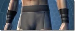 Malak's Shadow Wristguards Male