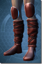 Mandalore the Indoimitable Male Boots