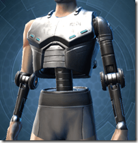 Series 614 Cybernetic Torso Male