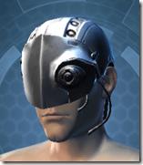 Series 615 Cybernetic Skull Male