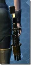Czerka CZX-4 Blaster Pistol - Stowed