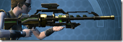 Czerka CZX-4 Sniper Rifle - Right