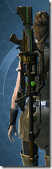 Czerka CZX-4 Sniper Rifle - Stowed