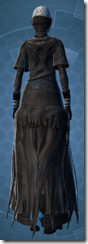 Ghostly Magus - Female Back