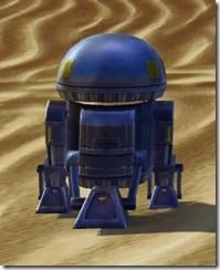 M8-3R Astromech Droid - Back