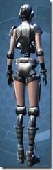 Series 617 Cybernetic - Female Back