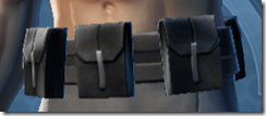 Alliance Agent Male Belt