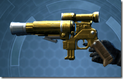Alliance Blaster Pistol - Left