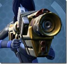 Alliance Blaster Rifle - Front