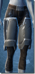 Alliance Hunter Female Legplates
