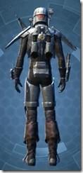 Alliance Hunter - Male Back