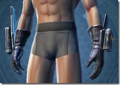 Alliance Hunter Male Gauntlets