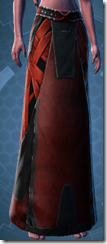 Alliance Inquisitor Female Legwraps