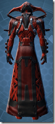 Alliance Inquisitor - Male Back