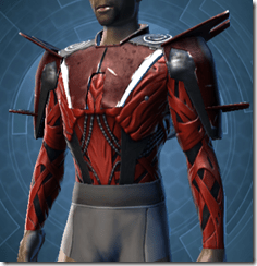 Alliance Inquisitor Male Robe