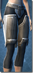 Alliance Trooper Female Greaves