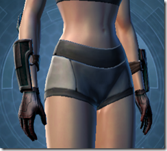 Dark Reaver Agent Female Gloves