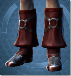 Dark Reaver Agent Male Boots