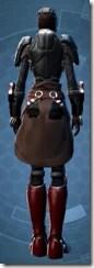 Dark Reaver Hunter - Female Back