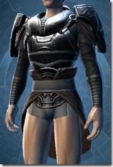 Dark Reaver Hunter Male Body Armor