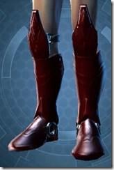 Dark Reaver Hunter Male Boots