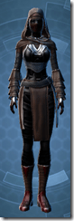 Dark Reaver Inquisitor - Female Front