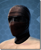 Dark Reaver Inquisitor Male Headgear