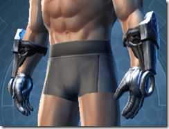 Dark Reaver Knight Male Gloves