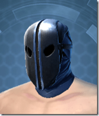 Dark Reaver Smuggler Male Headgear