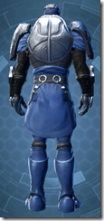 Dark Reaver Trooper - Male Back