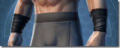 Dark Reaver Trooper Male Bracers