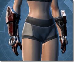 Dark Reaver Warrior Female Gloves