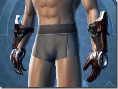 Dark Reaver Warrior Male Gloves