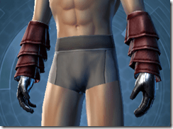 Deceiver Inquisitor Male Gloves
