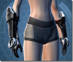 Deceiver Knight Female Gloves