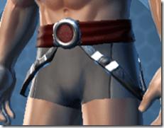 Deceiver Trooper Male Belt