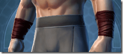 Deceiver Trooper Male Bracers