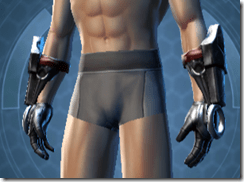 Deceiver Warrior Male Body Gloves