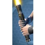 Desolator's Starforged Lightsaber*