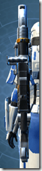 Exhumed Assault Cannon - Stowed